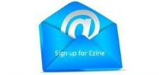 Sign up for ezine
