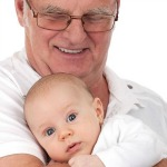 Grandad and Baby