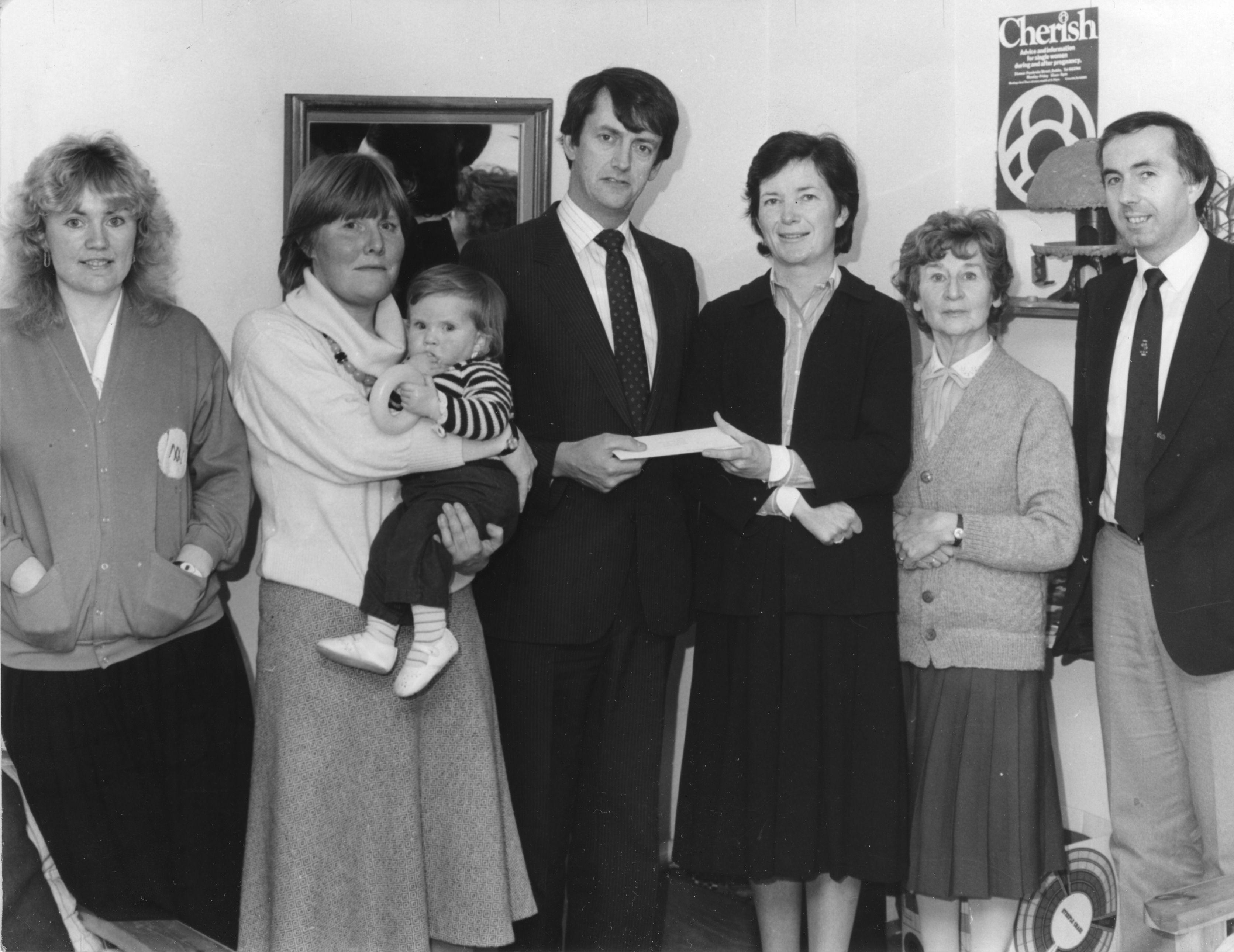 Mary Robinson & Cherish 1970s